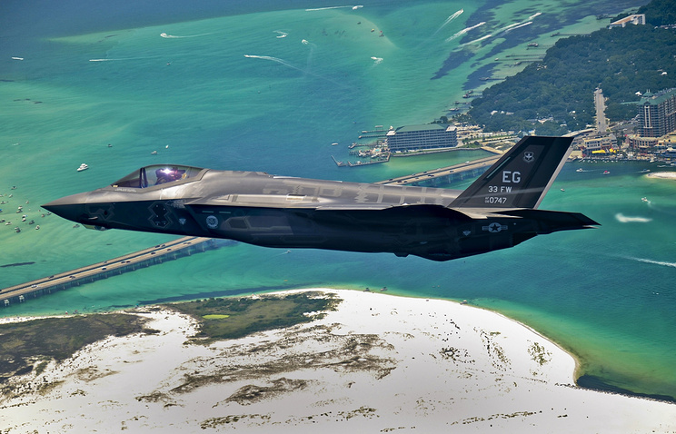 F-35 Lightning II joint strike fighter aircraft
