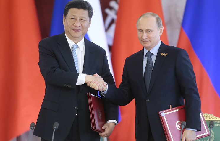 Chinese leader Xi Jinping and Russian President Vladimir Putin