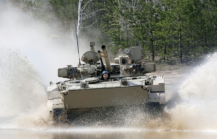 BMP-3 fighting vehicle (archive)