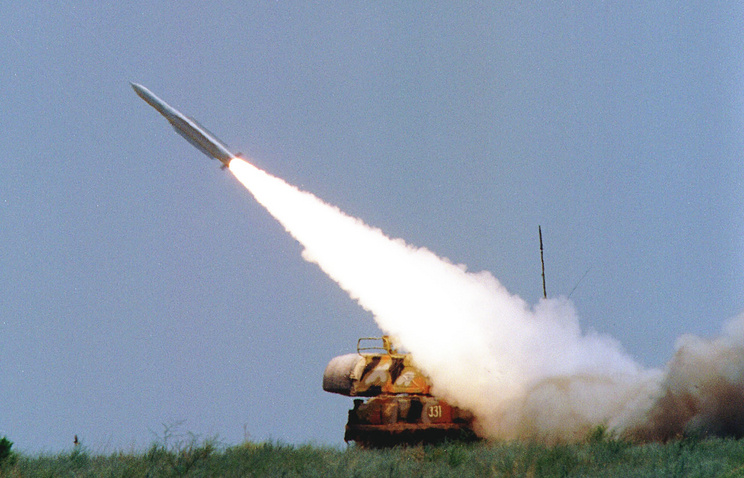 Buk missile system fired (archive)