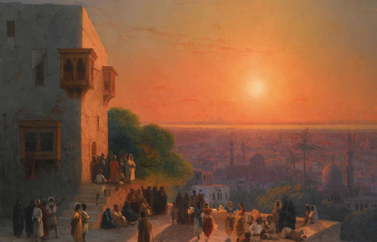 Evening in Cairo by Ivan Aivazovsky