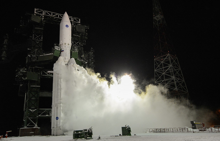 Angara rocket launch