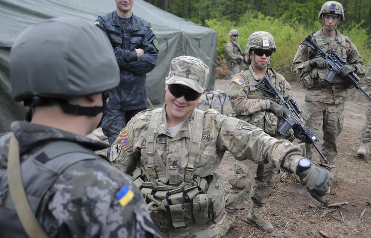 US soldiers in Ukraine (archive)