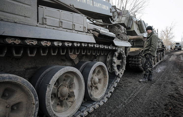 Ukraine's heavy weapons in the area of Artyomovsk (archive)