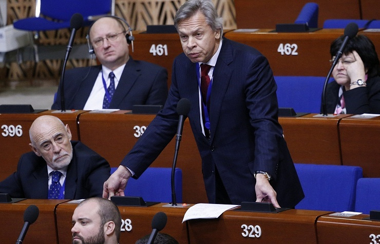 Russian State Duma's Committee of International Affairs head Alexey Pushkov