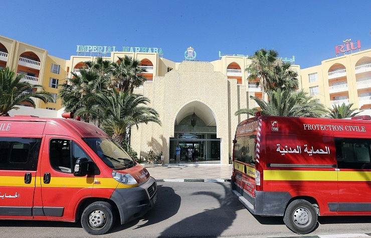 Imperial Marhaba hotel in Sousse, Tunisia