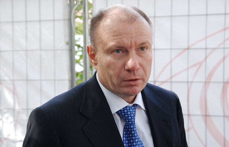 Vladimir Potanin, CEO and one of the owners of Norilsk Nickel