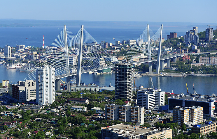 Far Eastern city of Vladivostok
