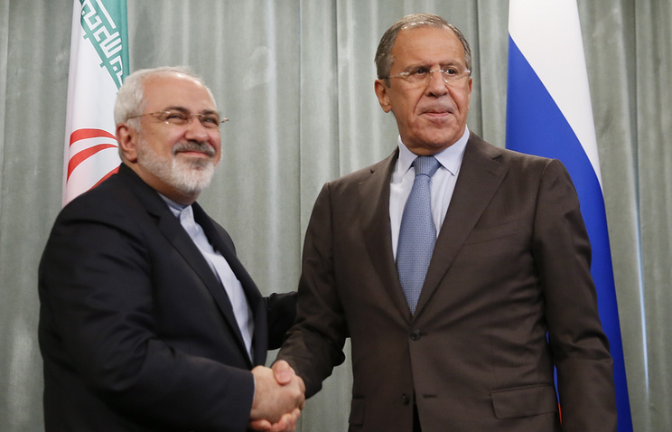 Javad Zarif and Sergey Lavrov (archive)
