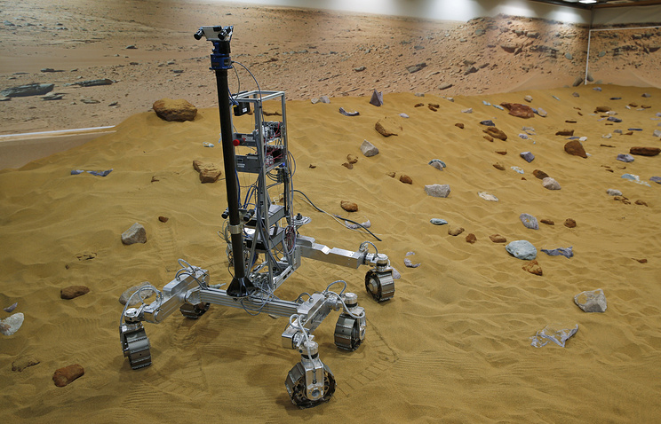 Robotic vehicles of the European Space Agency's ExoMars program