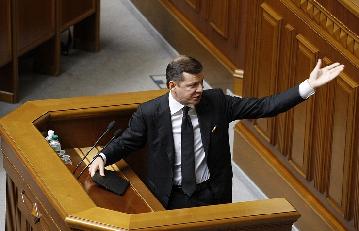 Ukraine's Radical Party leader Oleh Lyashko