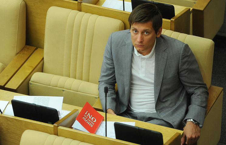 Member of the Russian State Duma Dmitry Gudkov