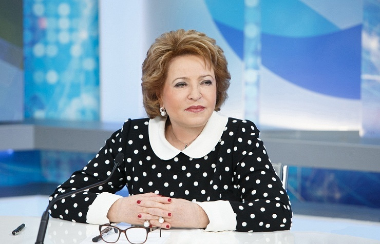 Valentina Matviyenko, the speaker of Russia's Federation Council upper parliament house