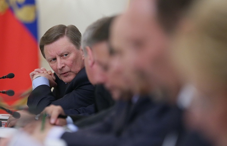 Kremlin chief of staff Sergey Ivanov