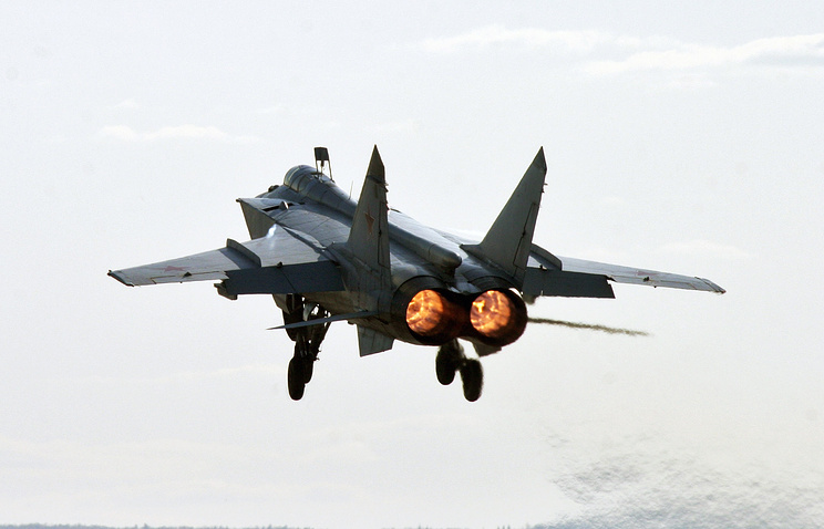 Two-seat long-range supersonic interceptor MiG-31