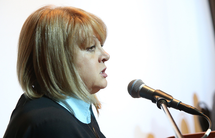 Russia's Human Rights Commissioner Ella Pamfilova
