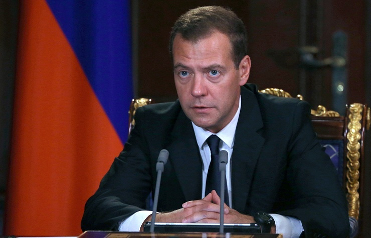 Russian PM Dmitry Medvedev