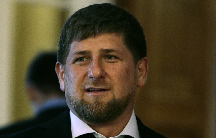 Ramzan Kadyrov, the head of the Chechen Republic