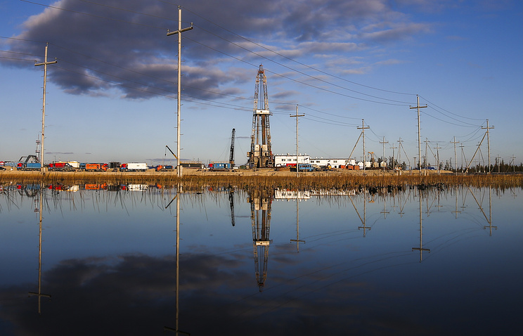 Russian North-Kharampur oil field