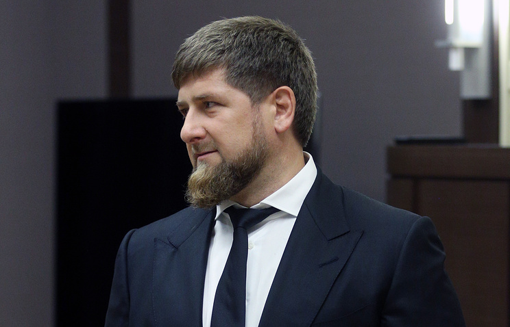 Leader of republic of Chechnya Ramzan Kadyrov