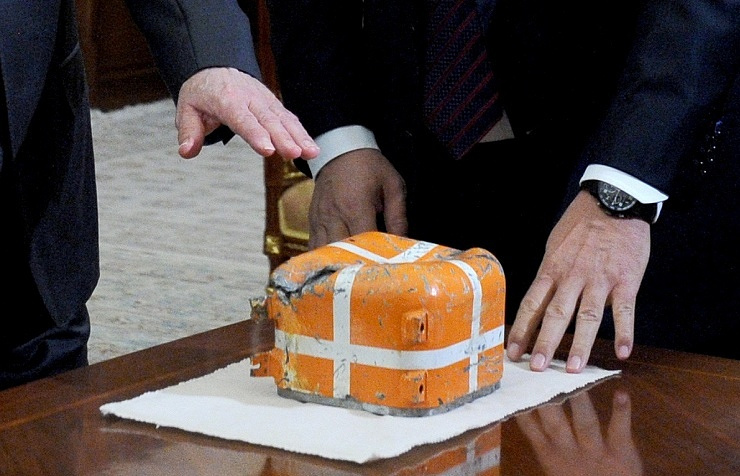 Flight recorder of the downed Russian Su-24