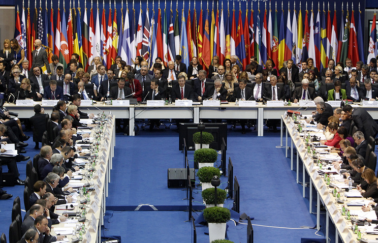 22nd meeting of the OSCE Ministerial Council in Belgrade