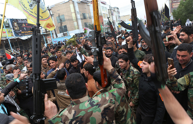 A demonstration calling again for the immediate withdrawal of Turkish troops from northern Iraq