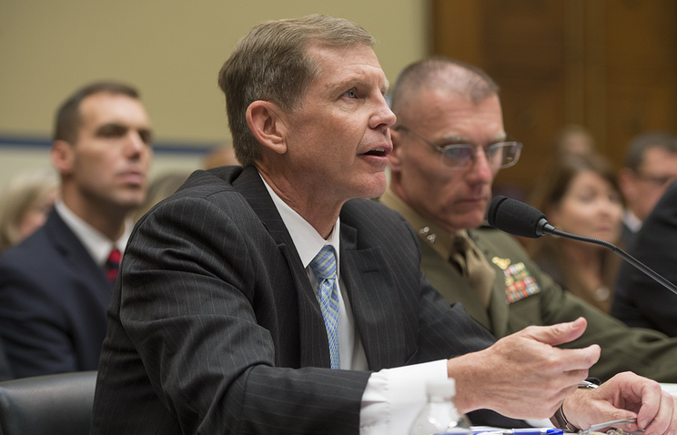 Assistant Defense Secretary for Special Operations/ Low-Intensity Conflict Michael Lumpkin