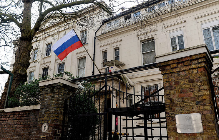 Russian embassy in London, Britain
