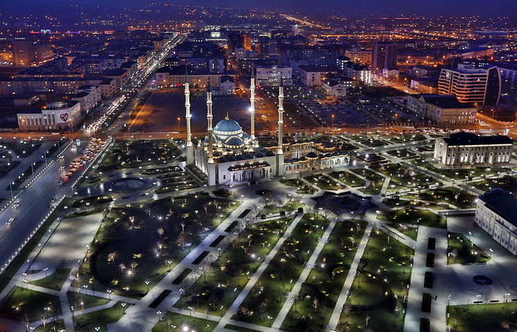 The city of Grozny