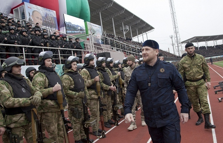 Chechnya's Head Ramzan Kadyrov (archive)