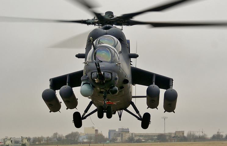 Mil Mi-35M attack helicopter