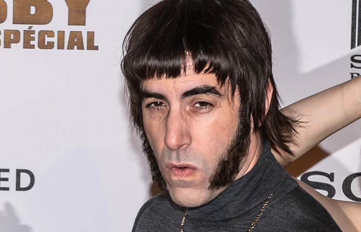 Sacha Baron Cohen at the photocall for 'The Brothers Grimsby'