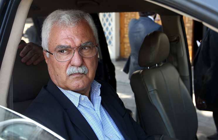Leader of the Supreme Commission for Negotiations George Sabra