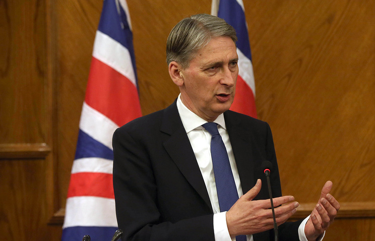 UK Foreign Secretary Philip Hammond