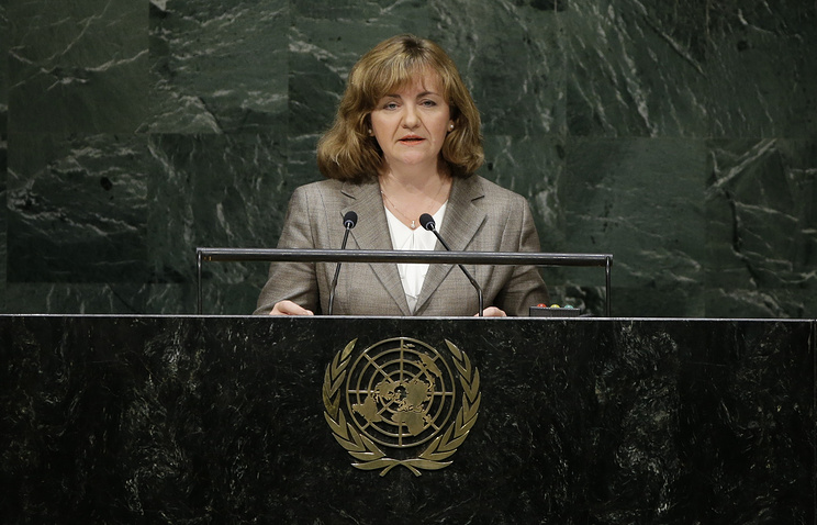 Moldova's Minister of Foreign Affairs and European Integration Natalia Gherman