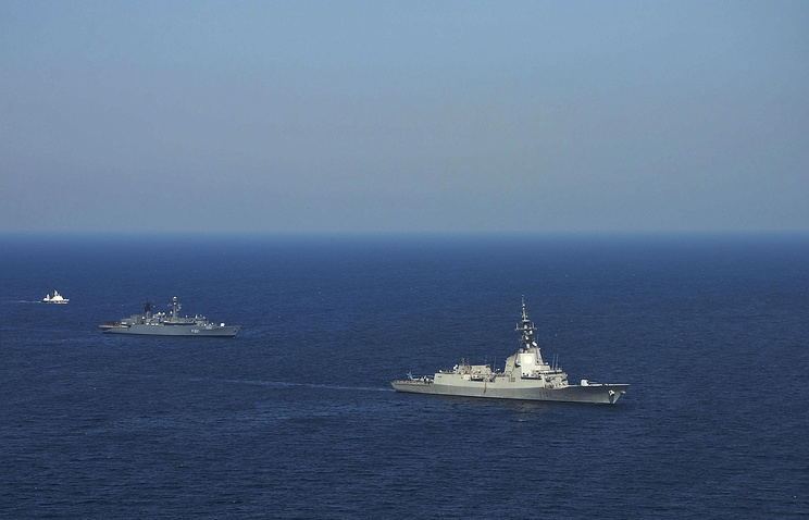 NATO navy exercises in the Black Sea off Odessa, Ukraine (archive)