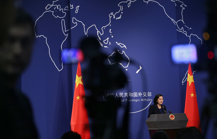 Chinese Foreign Ministry's spokeswoman Hua Chunying