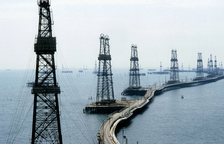 Azerbaijan's oil and gas extraction sites (archive)