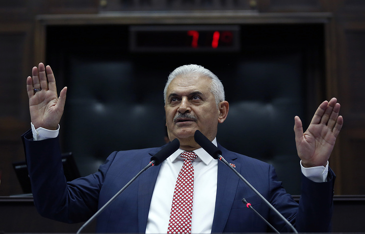 Turkey's new Prime Minister Binali Yildirim