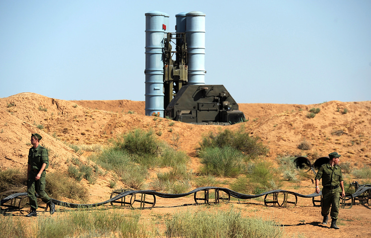 Russia's S-300PS air defense system (archive)