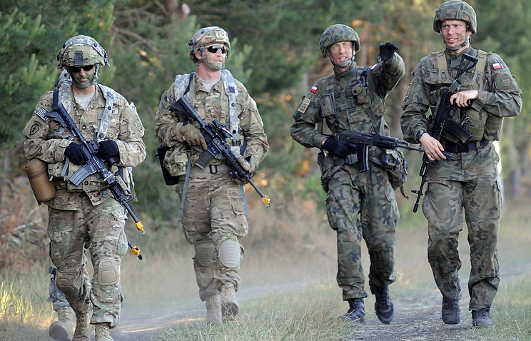 NATO military exercise in Poland