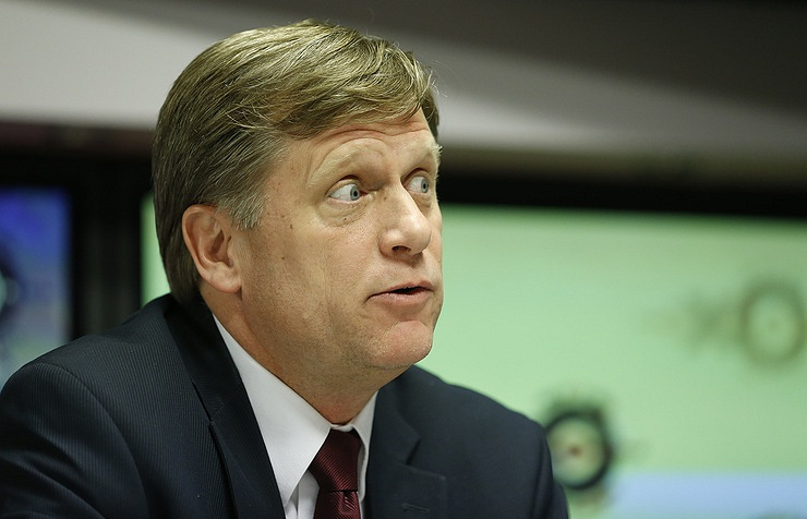 Michael McFaul, a former US ambassador in Moscow