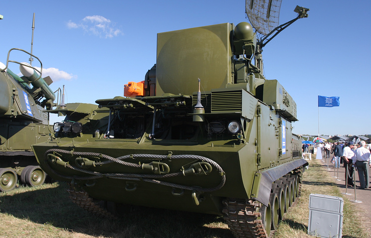 Tor-M1 antiaircraft missile systems