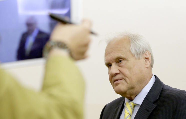 OSCE special representative of the Contact Group Martin Sajdik