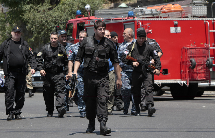 Armenian police and special force
