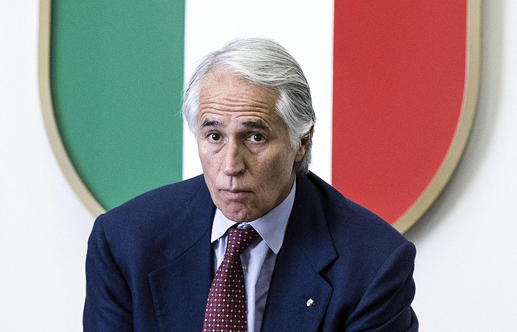 Giovanni Malago, the president of the National Olympic Committee of Italy