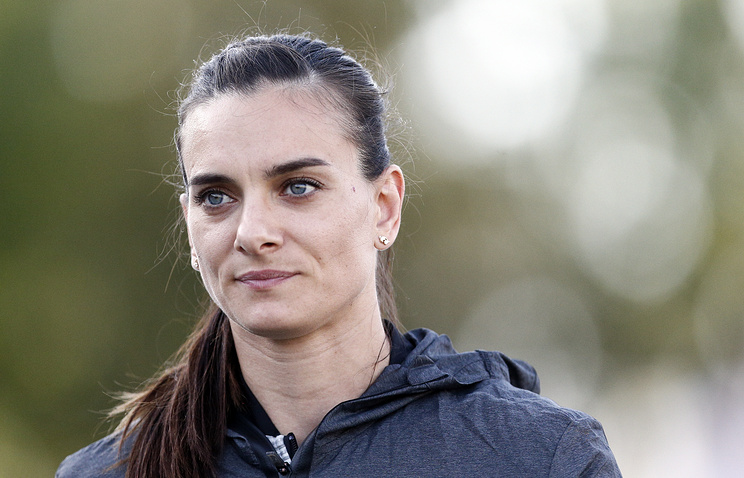 Two-time Olympic champion Yelena Isinbayeva