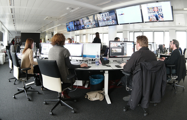 The newsroom of Bild