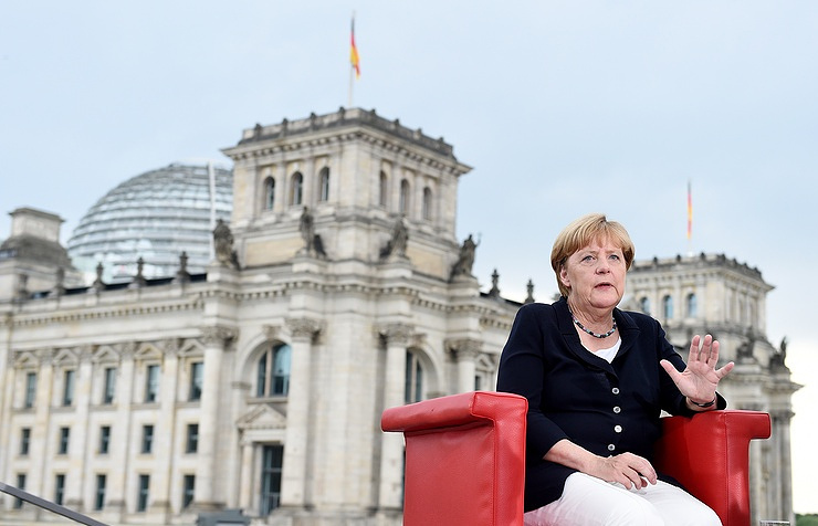 Germany's Federal Chancellor Angela Merkel